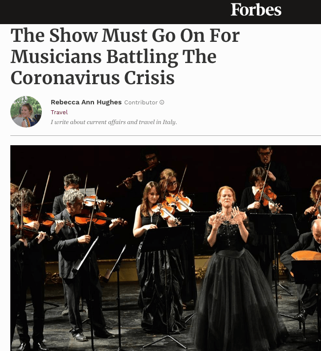 The Show Must Go On For Musicians Battling The Coronavirus Crisis
